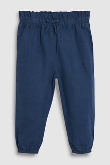 Linen Pull-On Trousers (3mths-7yrs)