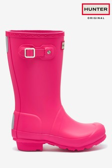 Hunter Kids Pink Original Wellies