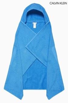 Calvin Klein Blue Towel Hoody