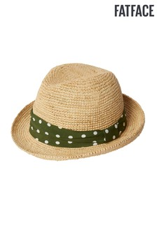FatFace Natural Spot Band Trilby