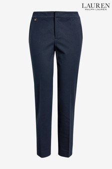 Pantalon skinny Lauren Ralph Lauren Lycette bleu marine