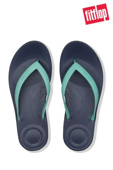 3f3a6fdc3a234d FitFlop™ Blue IQushion™ Ergonomic Flip Flop