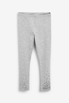 Billieblush Grey Heart Legging