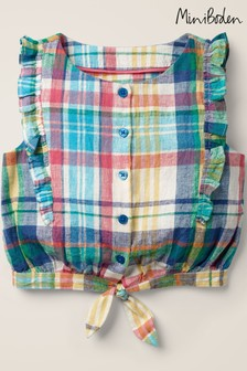 Boden Multi Tie Front Woven Top
