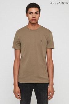 AllSaints Khaki Tonic T-Shirt