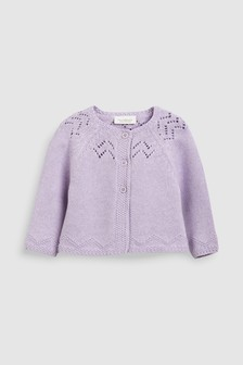 Pointelle Cardigan (0mths-2yrs)