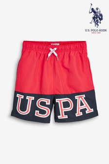 U.S. Polo Assn. Varsity Swim Short
