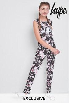Hype. Floral Jumpsuit