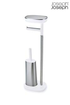Высокий стальной держатель для туалетной бумаги с подставкой Joseph® Joseph