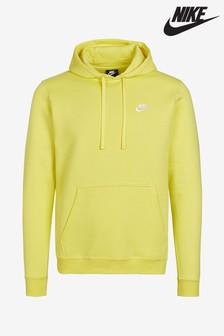 Nike Club Yellow Pullover Hoody