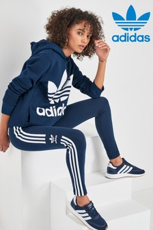 adidas Originals Navy Trefoil Leggings