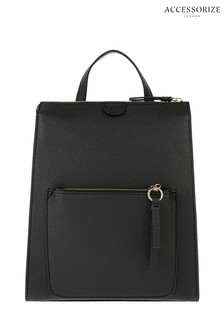Accessorize Black Mila Backpack 8433eea92abad