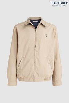 Polo Golf by Ralph Lauren Beige Harrington Jacket