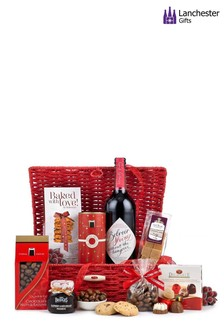 Alcohol Free Wine And Treats Gift Hamper by Lanchester Gifts