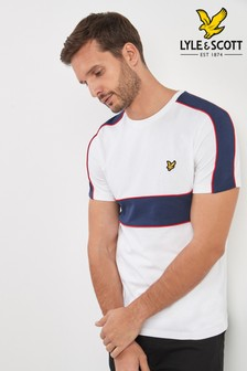 Lyle & Scott T-Shirt in Patchwork-Optik