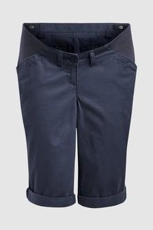 Maternity Knee Chino Shorts
