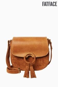 FatFace Brown Sadie Saddle Cross Body Bag