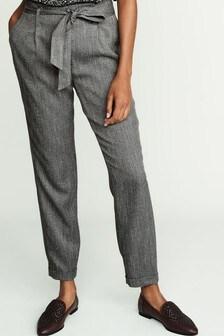 Pantalon fuselé avec ceinture