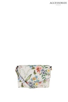 Accessorize White Kenzi Cross Body Bag