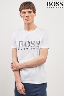 BOSS White Logo T-Shirt