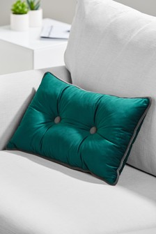 Button Velvet Cushion