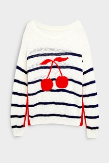 Cherry Stripe Jumper