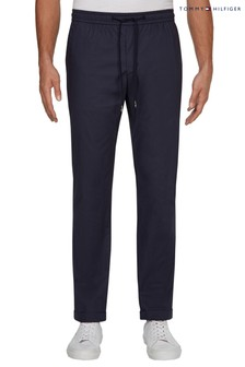 Tommy Hilfiger Blue Active Luxury Poplin Trousers