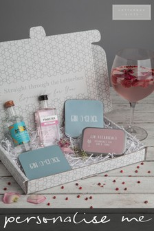 Personalised Gin Gift Set by Letterbox Gifts