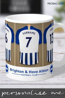 Personalised Brighton & Hove Albion Mug by Personalised Football Gifts