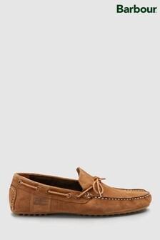 Barbour Tan Suede Shoe