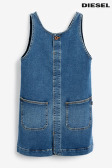 Diesel® Kids Mid Wash Denim Dress