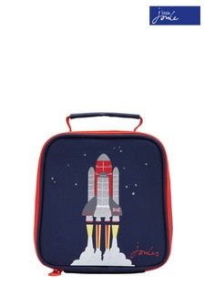 Joules Blue Munch Boys Rocket Lunch Bag