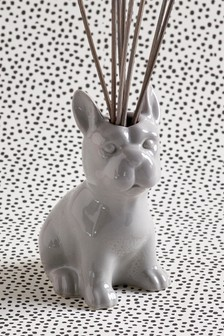 Lemon & Bergamot Porcelain Bulldog 70ml Diffuser
