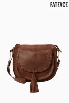FatFace Brown Savanah Saddle Bag