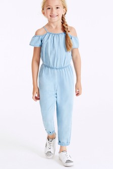 Cold Shoulder Jumpsuit (3-16yrs)
