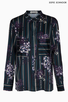 Sofie Schnoor Floral Stripe Long Sleeve Shirt