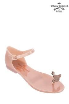 Vivienne Westwood Nude Orb Toe Post Sandal