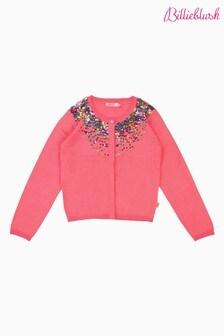 Billieblush Pink Embellished Cardigan