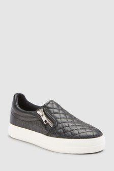 Quilted Skate Shoes (Older)