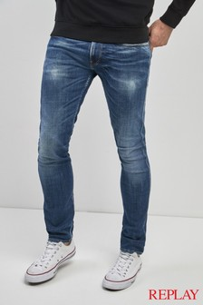 Replay® Anbass Power Stretch Slim Fit Jean