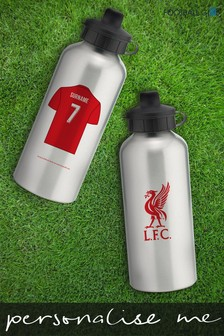Personalised Liverpool Water Bottle by Personalised Football Gifts