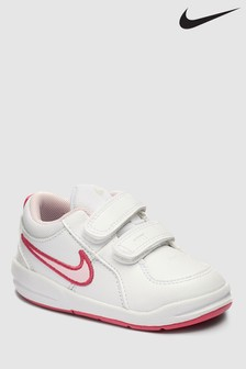 Nike White/Pink Pico Junior