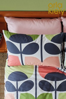 Set of 2 Orla Kiely Climbing Rose Cotton Pillowcases