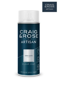 Craig & Rose Clear Semi Gloss Top Coat Spray Paint