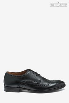 Wide Fit Brogue Shoe