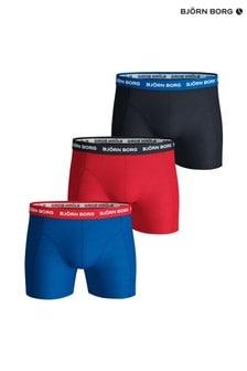 Bjorn Borg Blue Contrast Solids Shorts