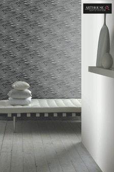 Arthouse Black Serengeti Animal Nights Wallpaper