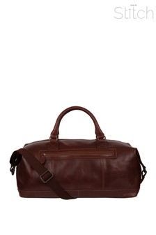 Made By Stitch Shuttle Leather Holdall