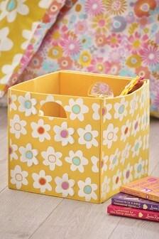 Retro Floral Storage Box