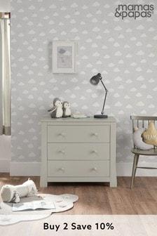 Mia Grey Dresser by Mamas and Papas